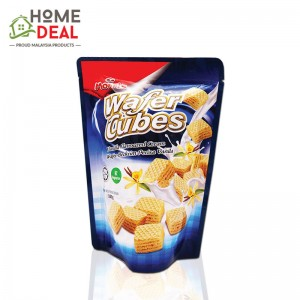 Morris Wafer Cubes - Vanilla Flavoured Cream 100g (MORRIS WATER CUBE-香草味威化饼干)