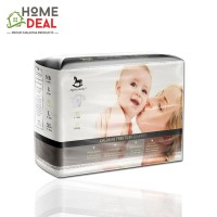 Applecrumby Chlorine Free Premium Tape Diapers - M 42pcs (Applecrumby 粘贴带尿片 M)