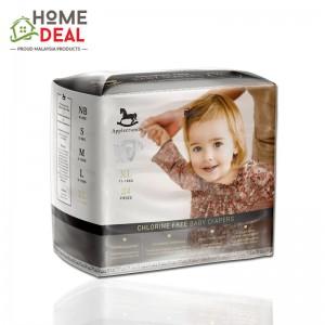 Applecrumby Chlorine Free Premium Tape Diapers - XL 24pcs  (Applecrumby 粘贴带尿片 XL)