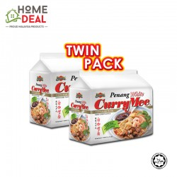 Ibumie Penang White Curry Mee 420g (TWINPACK) 派迷槟城白咖喱面