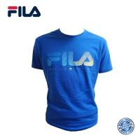FILA Cotton Graphic T-Shirt - D3 Royal Blue