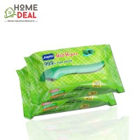 Japlo Baby Wipes General Purpose (Twin Packs) 30 sheets (佳儿乐新生儿手口湿纸巾 (薄荷味 30片*2包))