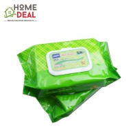 Japlo Baby Wipes General Purpose (Twin Packs) 80 sheets (佳儿乐新生儿手口湿纸巾 (薄荷味 80片*2包))
