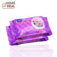 Japlo Baby Wipes Scented (Twin Packs) 30 sheets (佳儿乐新生儿手口湿纸巾 (薰衣草味 30片*2包))