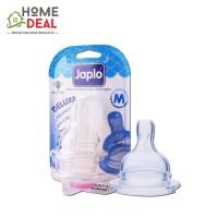 Japlo Deluxe Silicone Nipple M (佳乐儿 寬口奶嘴 M码)