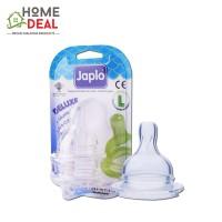 Japlo Deluxe Silicone Nipple L (佳乐儿 寬口奶嘴 L码)