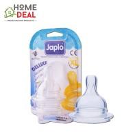 Japlo Deluxe Silicone Nipple XL (佳乐儿 寬口奶嘴 XL码)