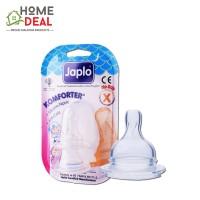 Japlo Komforter Silicone Nipple X - 2pcs (佳儿乐自然实感新生婴儿宽口径奶嘴 X码-双套)