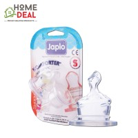 Japlo Komforter Orthodontic Nipple S - 2pcs (佳儿乐 奶嘴小圆孔小号 S码)
