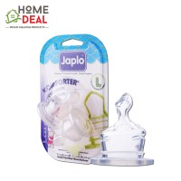 Japlo Komforter Orthodontic Nipple L - 2pcs (佳儿乐 奶嘴大圆孔大号 L码)