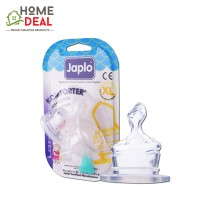 Japlo Komforter Orthodontic Nipple XL - 2pcs (佳儿乐 奶嘴大圆孔大号 XL码)