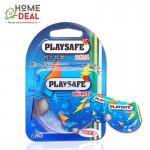 Playsafe Easy Pack Ribbed + Dotted 2's (PLAYSAFE避孕套螺纹+凸点2片装)