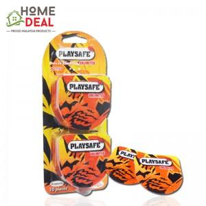 Playsafe Easy Pack Dotted 10\'s (Playsafe 避孕套润滑凸点情趣10片装  )