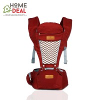 EZbaby - Urban Comfort Baby Hipseat Carrier (Red) (都市婴儿潮座-红色)