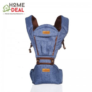 EZbaby - Urban Lite Baby Hipseat Carrier (Denim) (都市婴儿潮座-牛仔蓝)