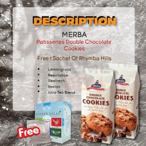 Merba Patisserie Double Chocolate Cookies 2x Free 1 Sachet Rhymba Hills