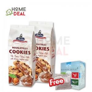 Merba Patisserie Nougatelli Cookies 2x Free 1 Sachet Rhymba Hills