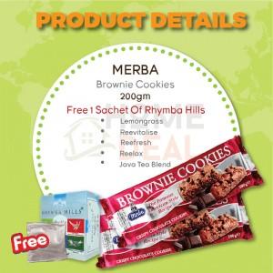 Merba Brownie Cookies 2x Free 1 Sachet Rhymba Hills