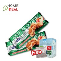 Merba Apple Pie Cookies 2x  Free 1 Sachet Rhymba Hills
