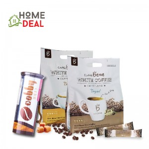 CAFFE BENE White Coffee (ORIGINAL and CARAMEL) free 1bottle Coffee Candy 咖啡陪你优惠免费馬廣済咖啡糖