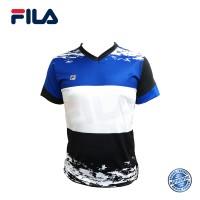 FILA Jersey-T (Royal Blue) - RN0003 斐乐 款舒适休闲透气耐磨运动短上衣 (蓝)