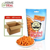 Kacang Macha - Curry Muruku - 60 grams x 60 packs (Wholesale)