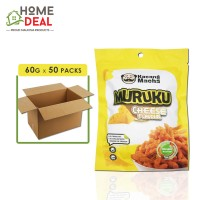 Kacang Macha - Cheese Muruku - 60 grams x 50 packs (Wholesale)