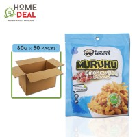 Kacang Macha - Smokey BBQ Muruku - 60 grams x 50 packs (Wholesale)