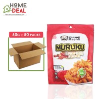 Kacang Macha - Spicy BBQ Muruku - 60 grams x 50 packs (Wholesale)