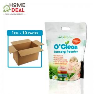 Baby Organix - O'Clean Laundry Powder - 1 KG x 10 packs (Wholesale)