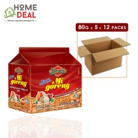 Ibumie - Mi Goreng Asli - 80 grams x 5 x 12 packs (Wholesale)