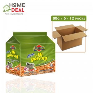 Ibumie - Mi Goreng Sambal Udang - 80 grams x 5 x 12 packs (Wholesale)