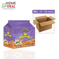 Ibumie - Mi Goreng Thai Tom Yam - 80 grams x 5 x 12 packs (Wholesale)