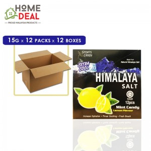 Himalaya - Salt Candy - 12 x 15 grams x 12 boxes (Wholesale)
