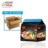 Red Chef - Sesame Clear Soup Noodles - 4 x 90 grams x 12 packs (Wholesale)