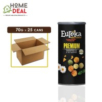 Eureka - Popcorn Paper Can Original - 70 grams x 25 cans (Wholesale)