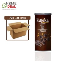 Eureka - Popcorn Paper Can Chocolate - 70 grams x 25 cans (Wholesale)