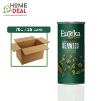 Eureka - Popcorn Paper Can Seaweed - 70 grams x 25 cans (Wholesale)