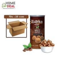 Eureka - Popcorn Paper Can White Coffee - 70 grams x 25 cans (Wholesale)