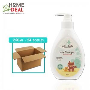 Kath + Belle - Hair Shampoo (Peach) - 250 ml x 24 bottles (Wholesale)