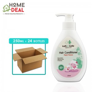 Kath + Belle - Hair Conditioner (Peach) - 250 ml x 24 bottles (Wholesale)