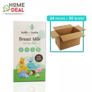 Kath + Belle - Breast Milk Storage Bags 24 packs x 50 boxes (Wholesale)