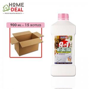 Kleenso - 9-in-1 Floor Cleaner Pink 900ml x 15 bottles (Wholesale)