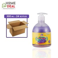 Kleenso - Moisturising Hand Soap (Lavender) 500ml x 24 bottles (Wholesale)