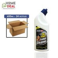 Kleenso - 3x Power Toilet Cleaner 600ml x 24 bottles (Wholesale)