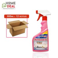 Kleenso - Biodegradable Kitchen Cleaner 500ml x 12 bottles (Wholesale)