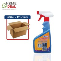 Kleenso - Anti Dust Glass Cleaner 500ml x 12 bottles (Wholesale)