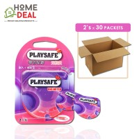 Playsafe - Easy Pack Long love + Ribbed 2's x 30 packs (Wholesale)