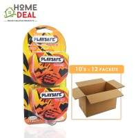 Playsafe - Easy Pack Dotted 10's x 12 packs (Wholesale)