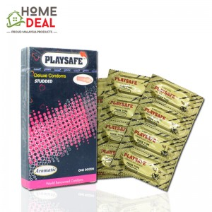 Playsafe - Studded Deluxe Condoms 12's